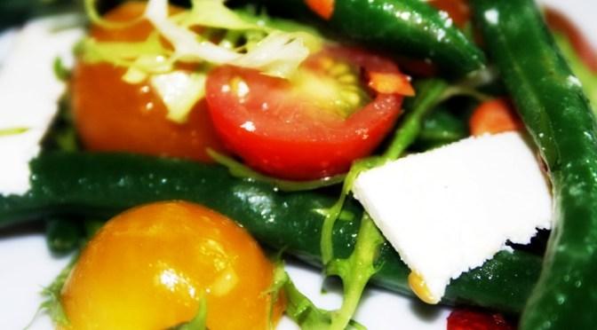 String Bean & Heirloom Tomato Salad