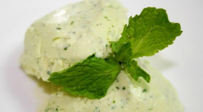 Basil Ice Cream (Basil Gelato)