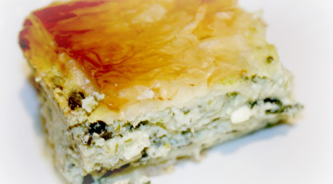 Dionysi's Spinach and Cheese Pie