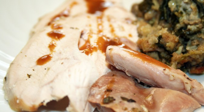Simple Herb Roasted Turkey