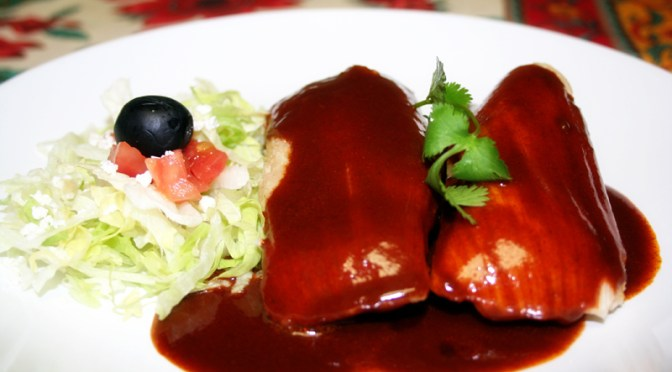 Red Chile Tamales
