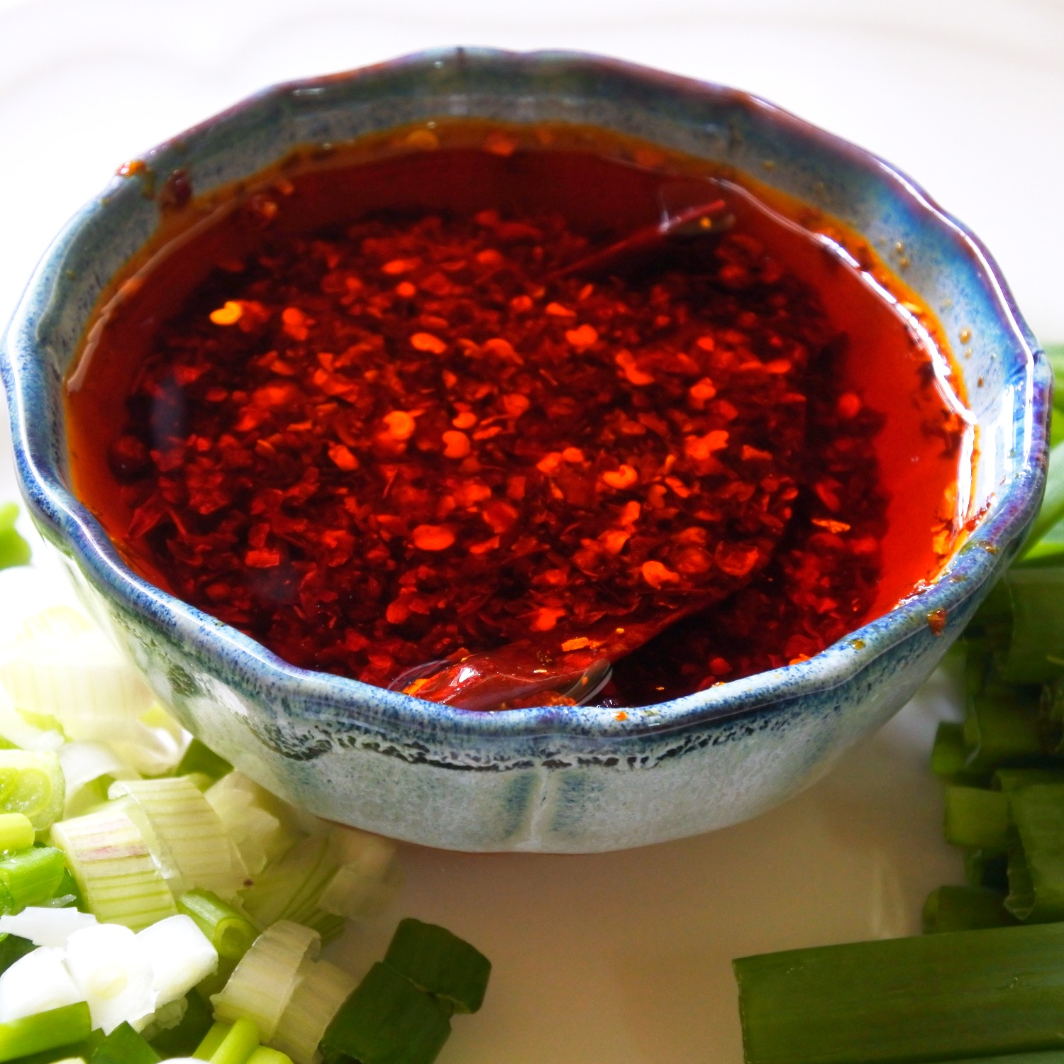 Homemade Chinese Chile Oil