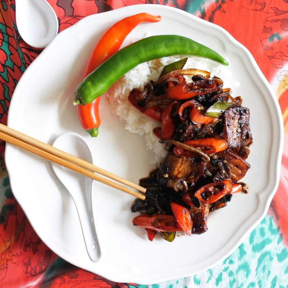 Pork Belly Stir-Fry