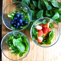 Add your favorite fresh fruit for a change up