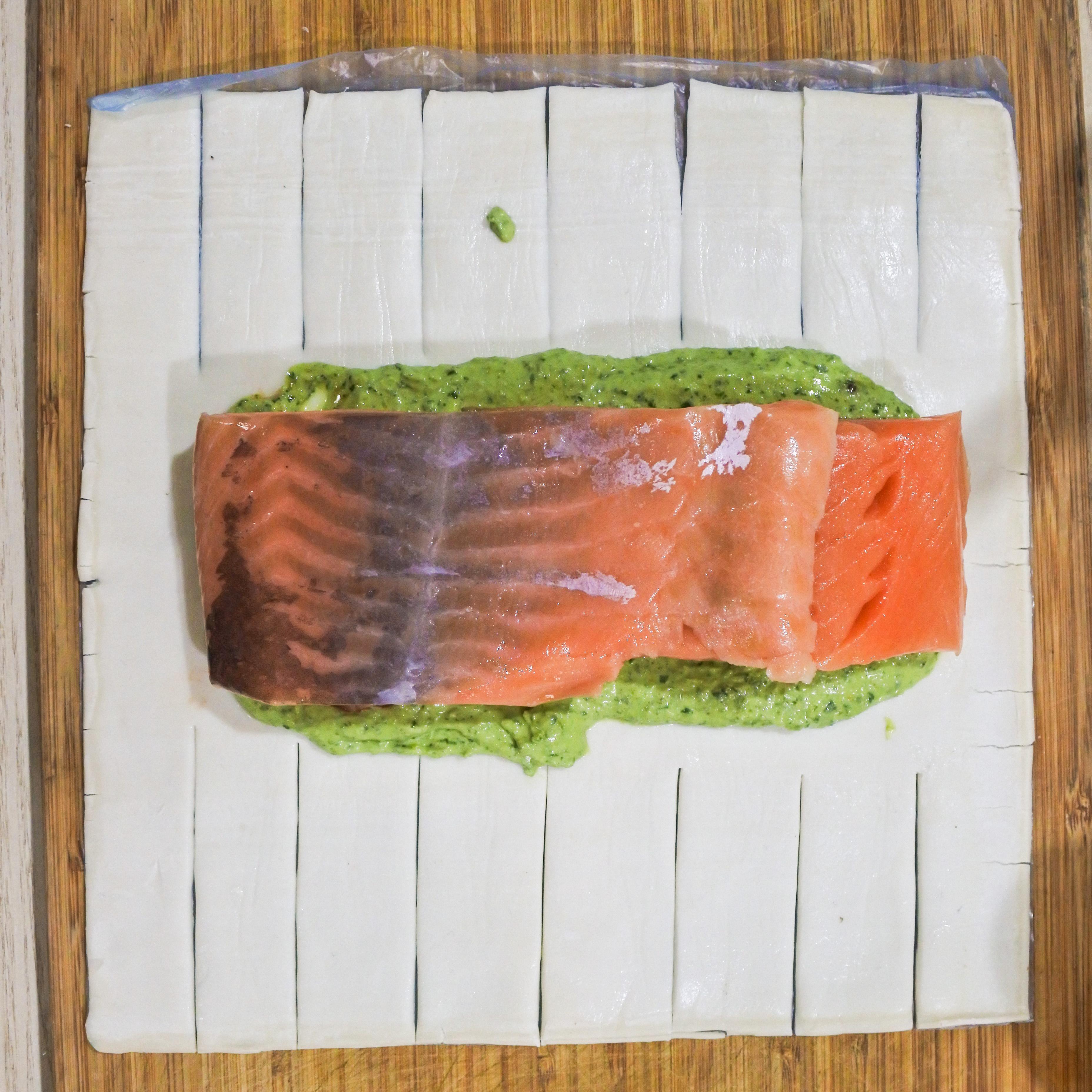 Salmon En Croute 5
