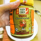 a jar of Chinese soybean paste