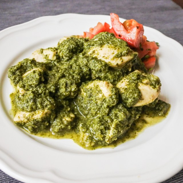 Cilantro Chicken Curry 9