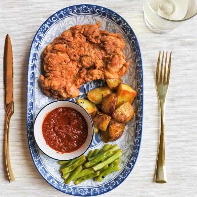 Crispy Chicken Chop 2