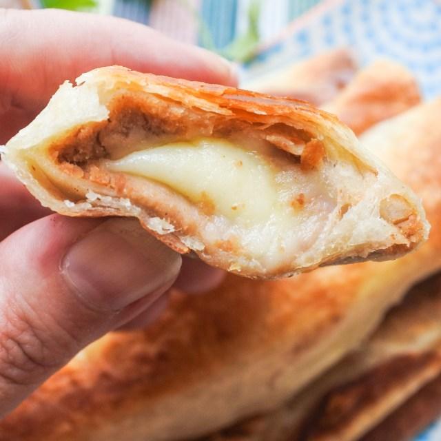 Bean and Cheese Crispy Burritos 4