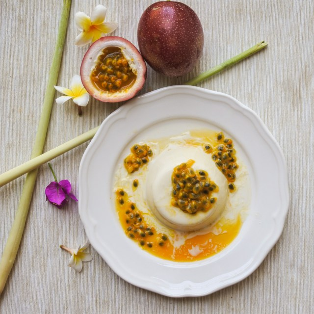 Lemongrass and Coconut Panna Cotta with Passionfruit 6