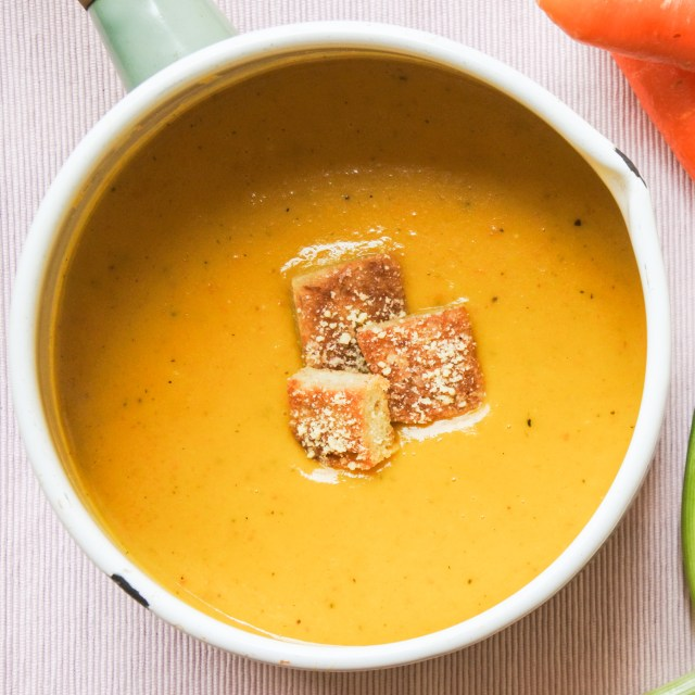 Carrot and Leek Soup 6
