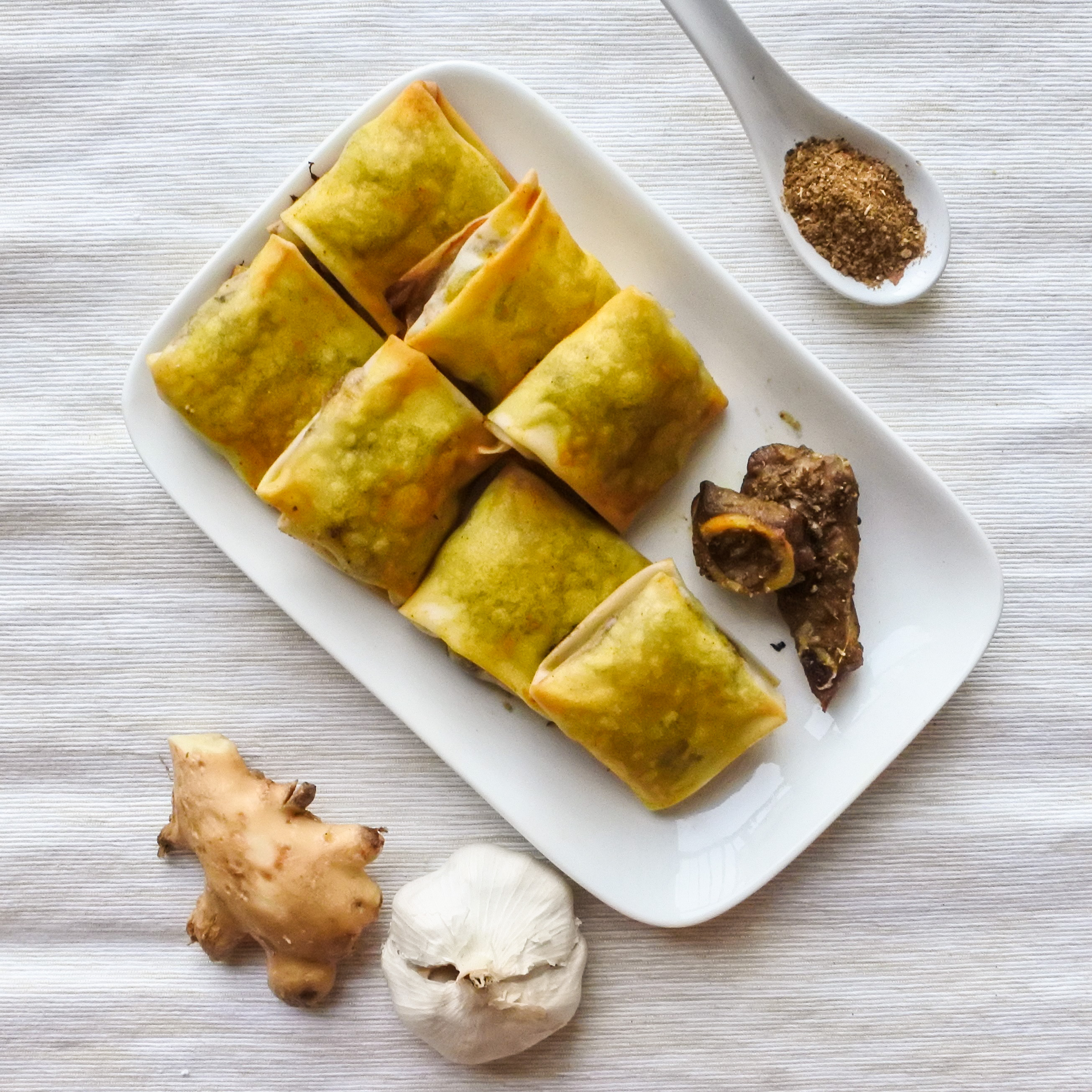 Uyghur Spiced Lamb Parcels