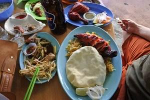 Plates of Mamak food in Penang