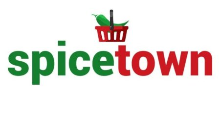 cart with spicetown logo