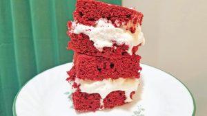 Cake Mix Ice Cream Sandwiches