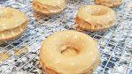 Coffee Donuts with Coffee Glaze