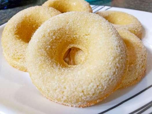 Baked Sugar Donuts
