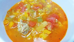 Italian Sausage and Pepper Soup