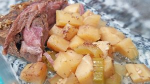 Pot Roast with Parsnips