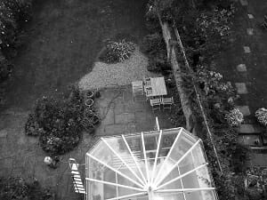 Garden Conservatory from above