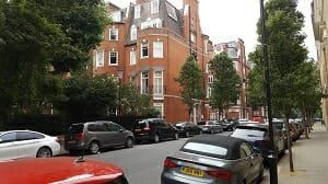 Mansion block Chelsea