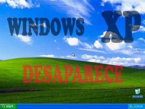 Windows XP desaparece