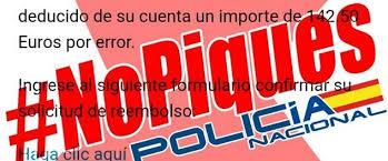 No piques bulos policia nacional
