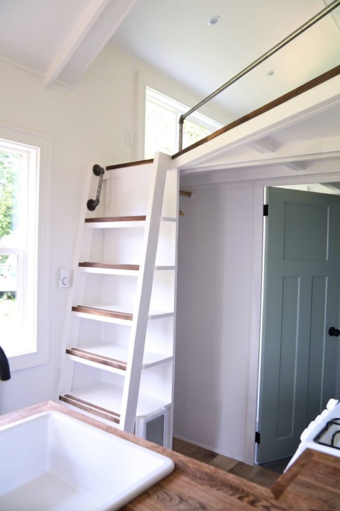 Stairs For Tiny Spaces – Spicyhappy | Clever Stairs For Small Spaces | Staircase | Upstairs Small Space | Front Window | Small Area | Mini