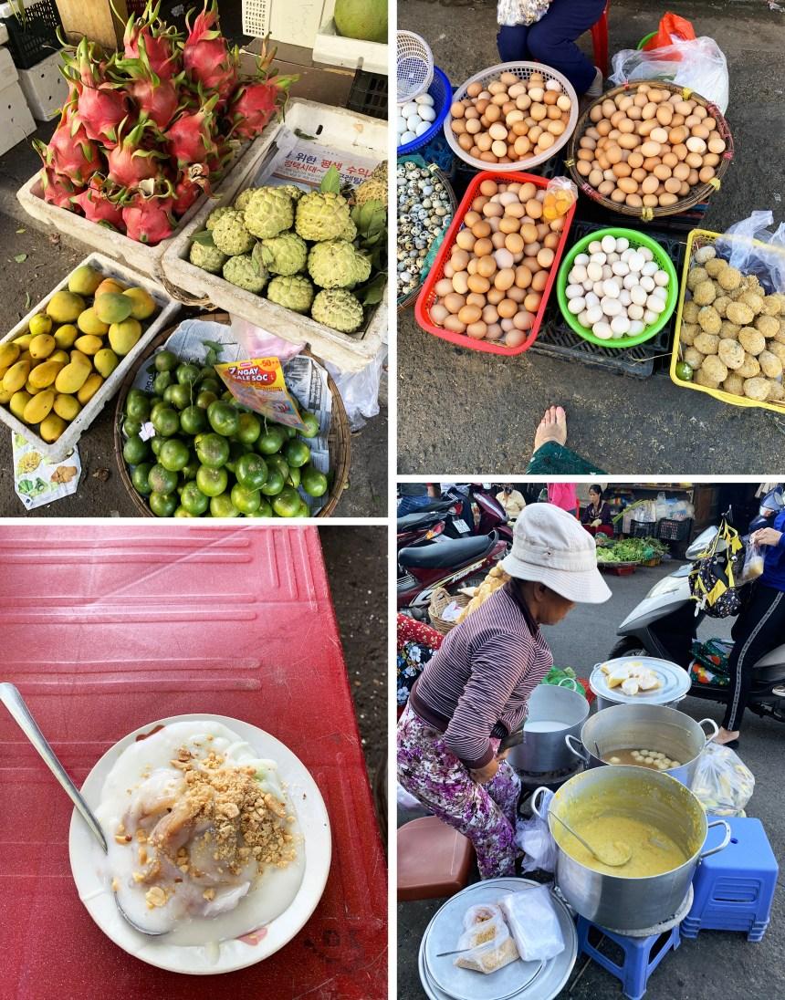 traveling foodie market