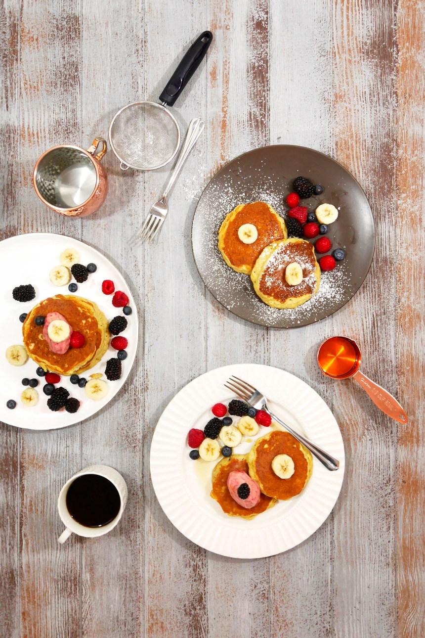 gluten free banana pancake breakfast