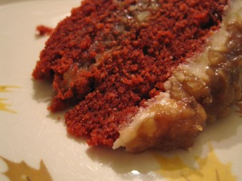 1. My Sweeties Red Velvet Rum Cake: http://agarlicgoddess.com/2010/04/02/my-sweeties-red-velvet-rum-cake/