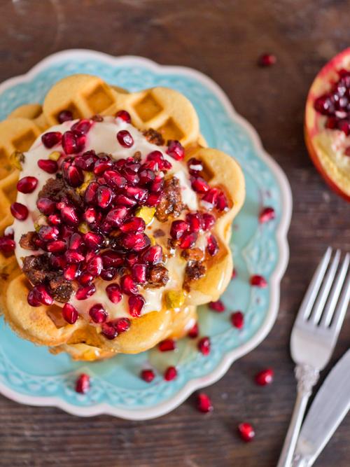baklava waffles