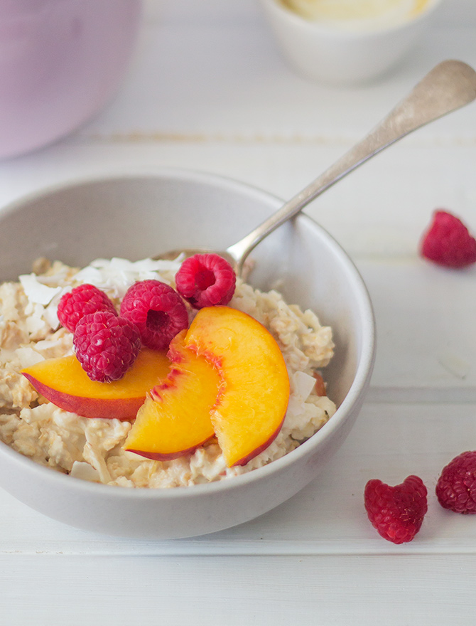 coconut bircher overnight oats