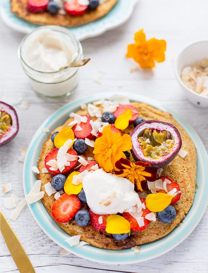 Carrot Cake Ricotta Pancake