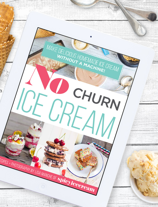 No Churn Ice Cream Free Ebook!