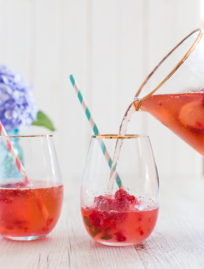 Pretty Party Iced Tea Punch