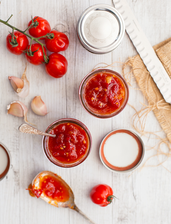 Homemade Tomato and Chilli Jam