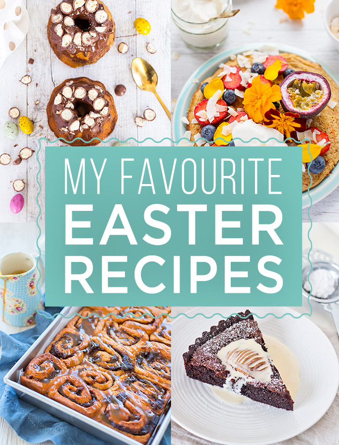 Spicyicecream Easter Recipes