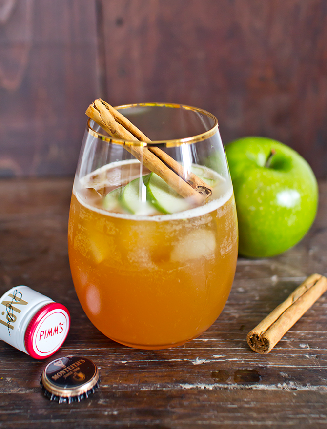 Apple Pie Pimm's Cocktail