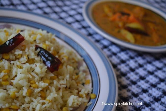 how to make chana dal pulao