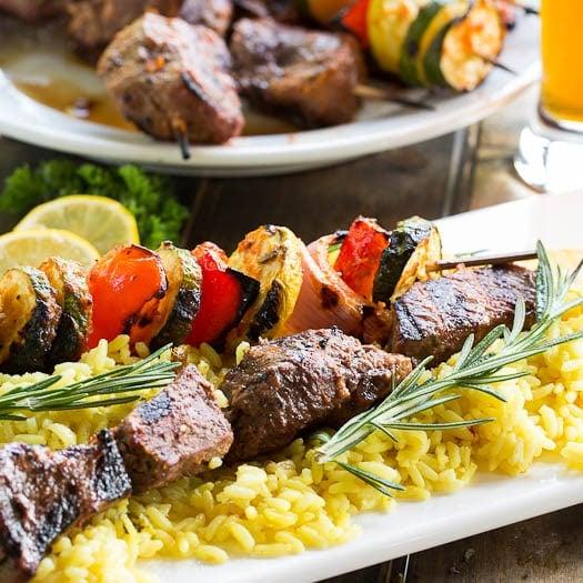 Kabob Afghan Marinade Beef