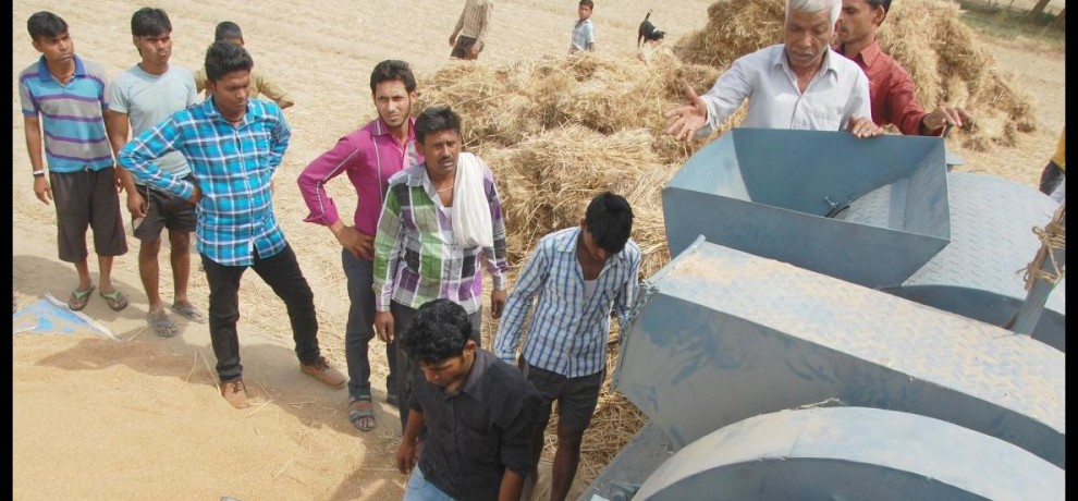 Beating murder of a Dalit youth, put the body in thresher