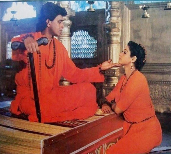 श्रीदेवी और मिथुन चक्रवर्ती