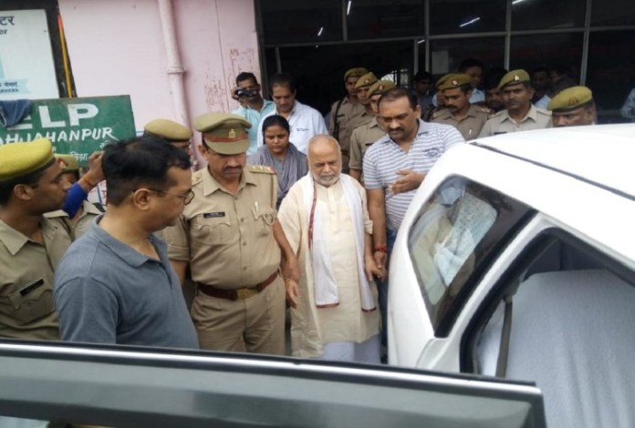 Image result for chinmayanand arrested