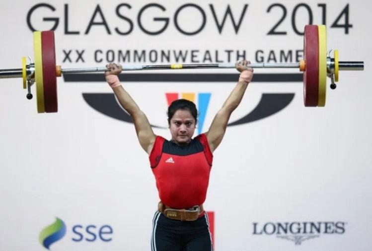 राष्ट्रमंडल खेलों  की कांस्य पदक विजेता वेटलिफ्टर स्वाति सिंह ने स्वीकारा दो साल का बैन