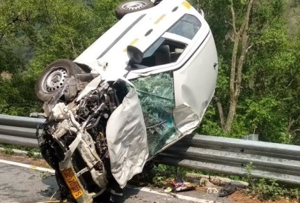 uttarakhand news : car accident on bhowali almora highway, diver died