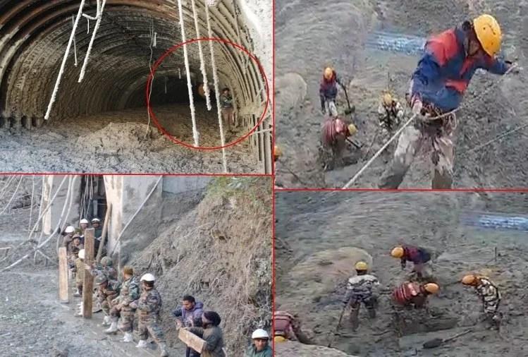 Image result for uttarakhand glacier 2nd tunnel
