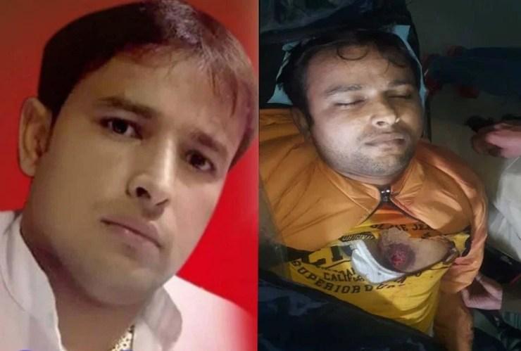 मृतक युवक का फाइल फोटो