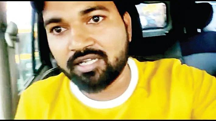 इस वाहन चालक ने वीडियो वायरल कर पुलिस को बताया तानाशाह।