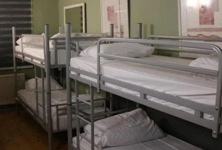 हरियाणा में मरीजों को नहीं  मिल रहे  बेड।